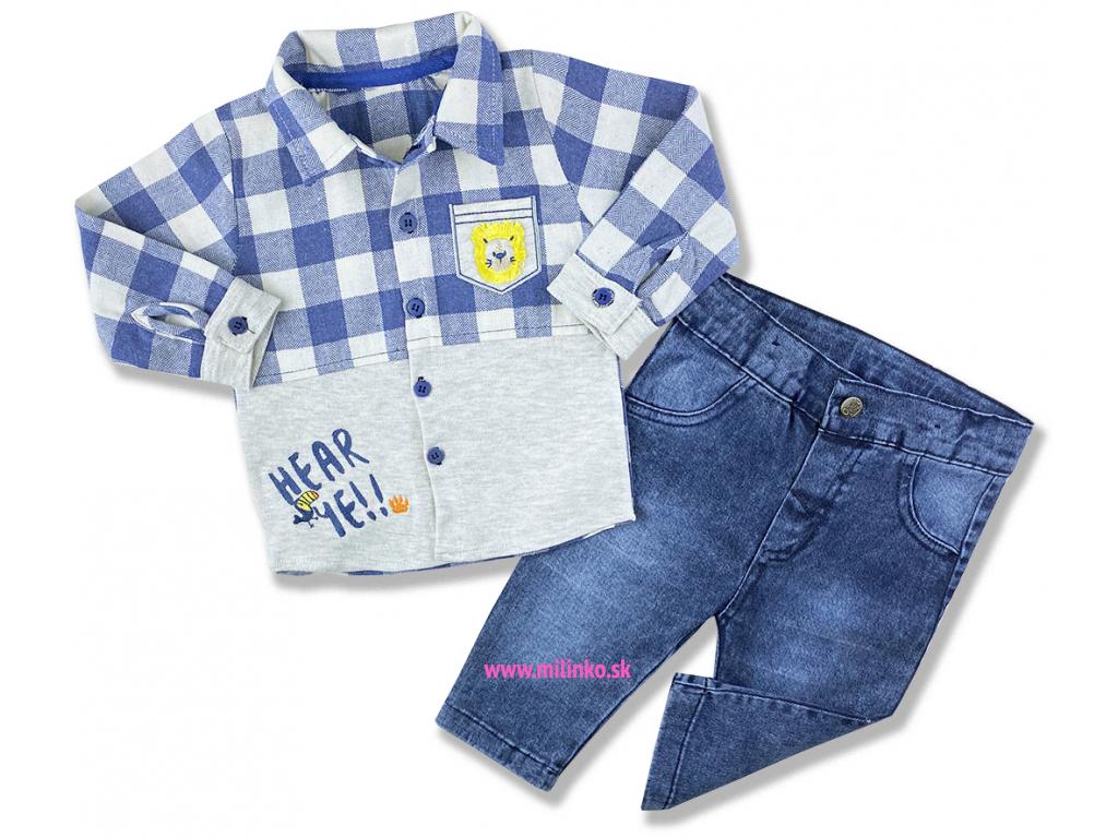 oblečenie pre bábätká rifle a košela