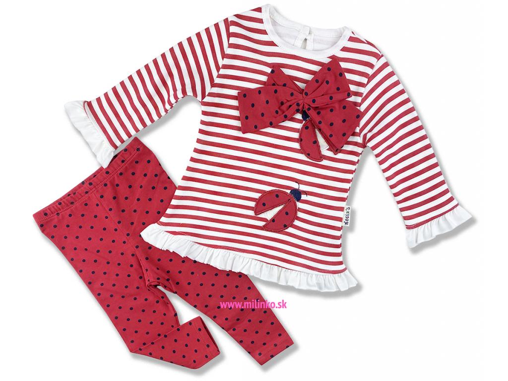 oblečenie pre bábätká necix lienka