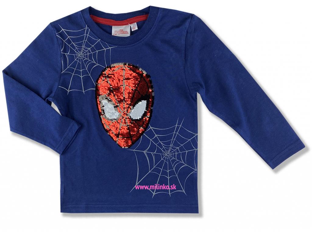 oblečenie pre deti tričko spiderman s flitramy