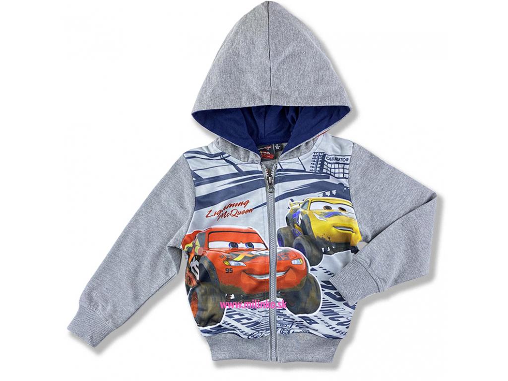 oblečenie pre deti mikina cars3 disney