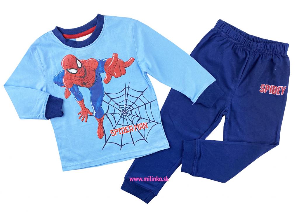 pižamo pre deti spiderman