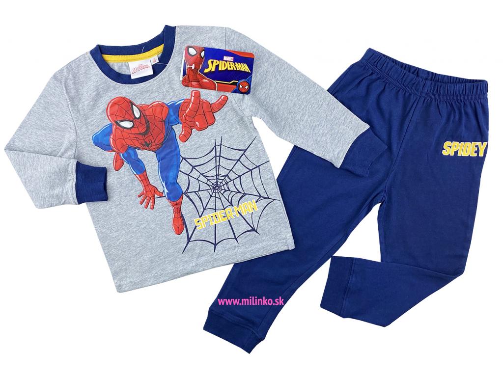 pižamo pre deti spiderman1