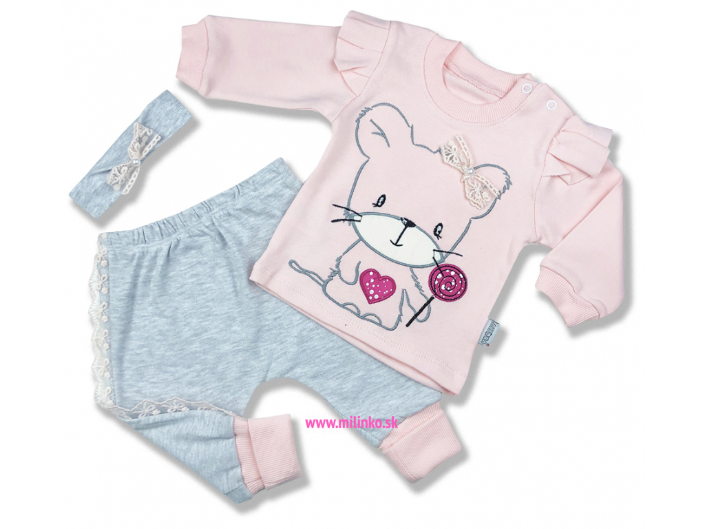 macík oblečenie pre bábätká