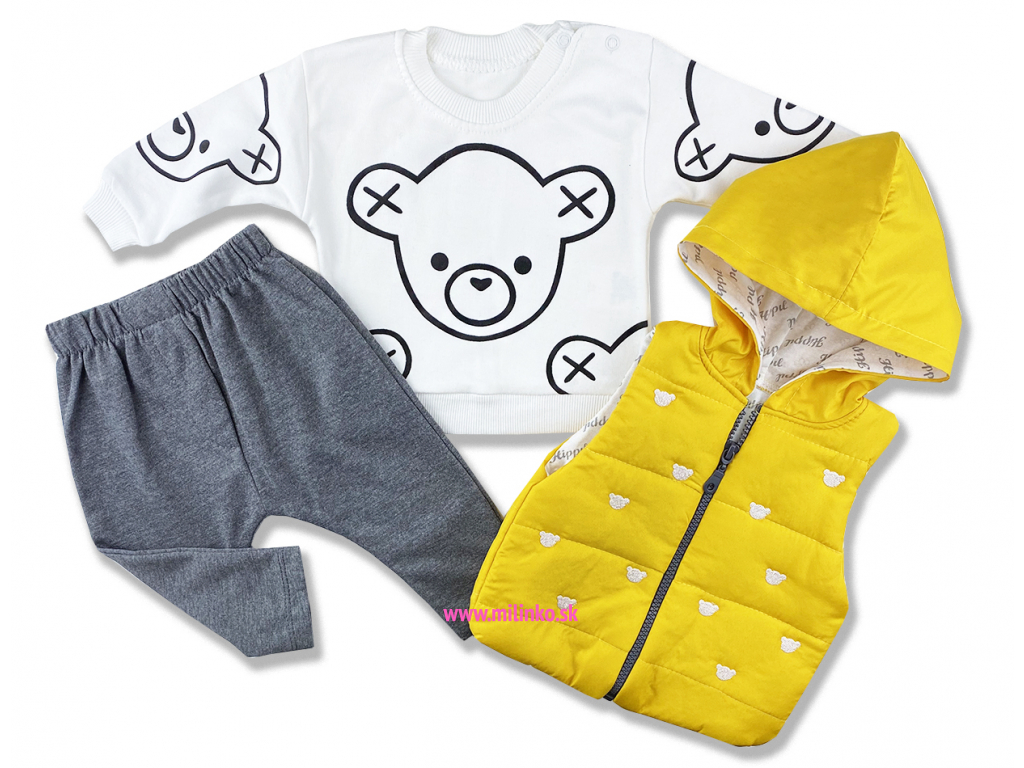 kojenecké oblečenie set teddy