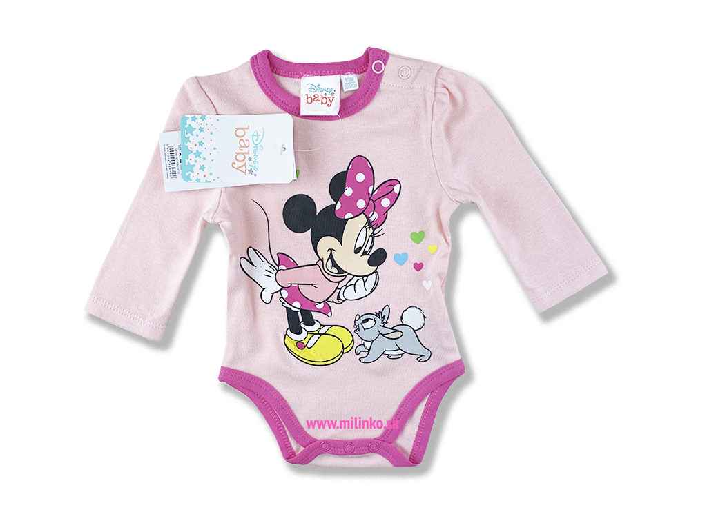 detske body minnie zajacik1