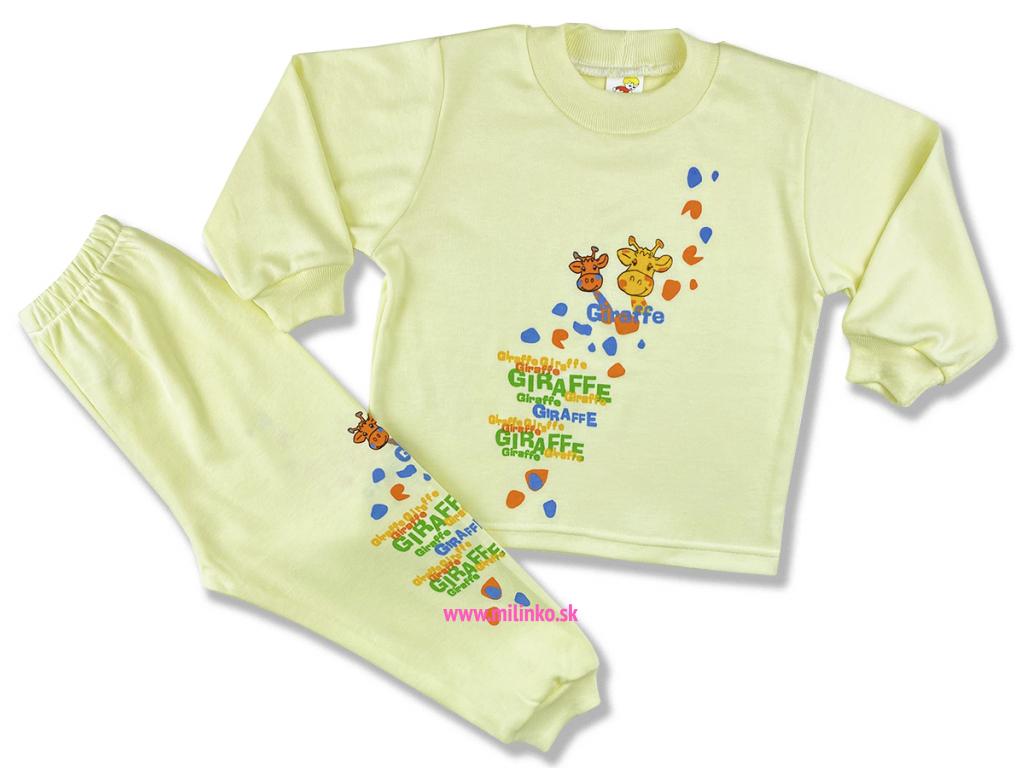 detské pyžamo giraffe1++