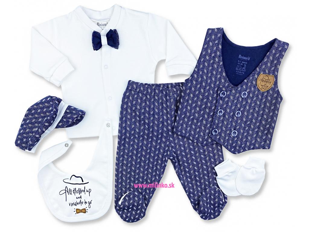5dielny kojenecký set Móda1