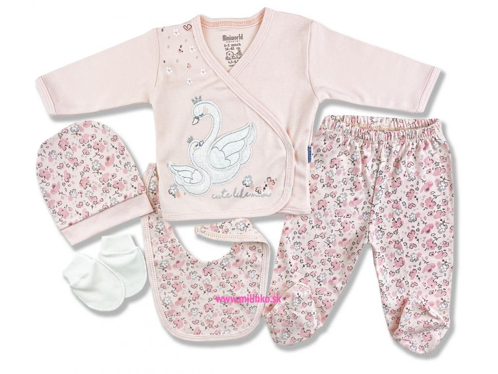 5dielna kojenecká súprava – labuť1