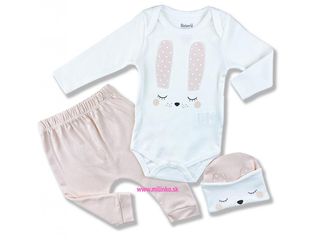 kojenecké oblečenie zajko