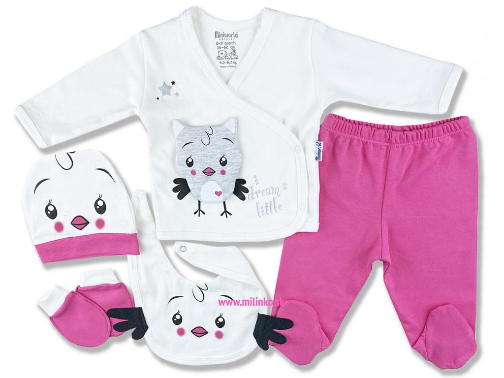 5dielna kojenecká súprava – Darčekové balenie1