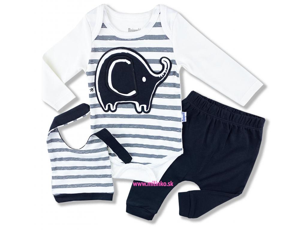 kojenecké oblečeni sloník