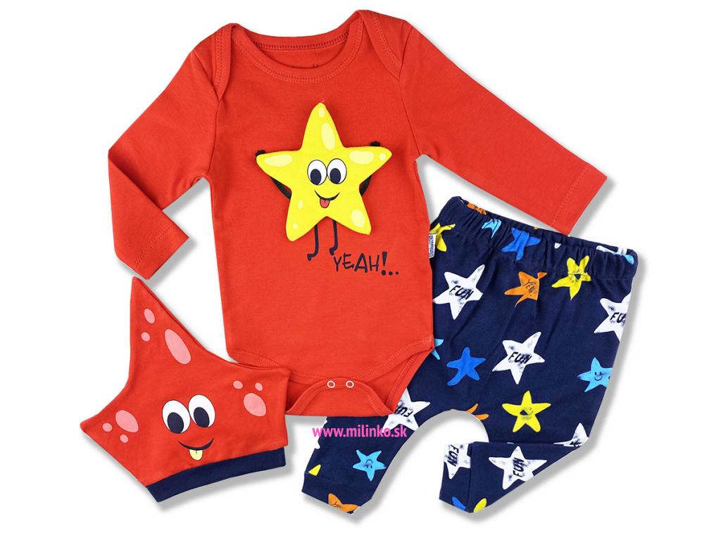 kojenecké oblečeni hviezda