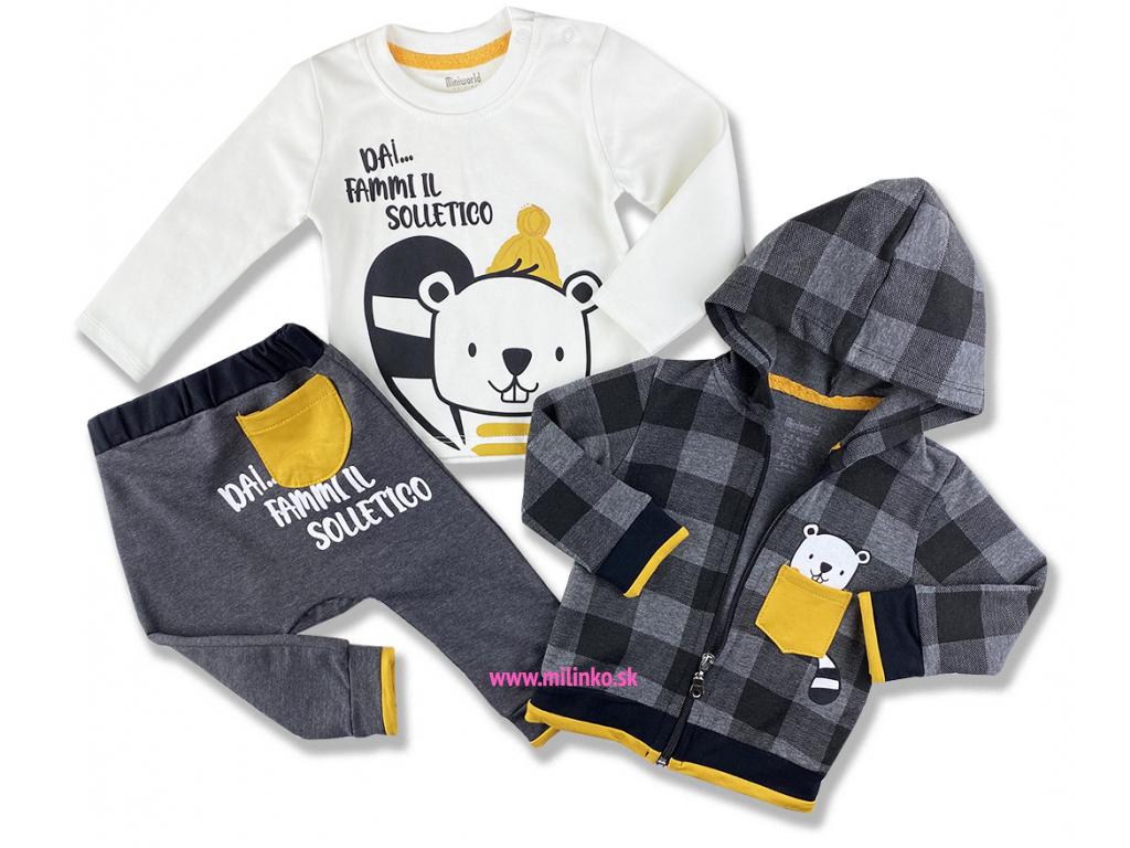 oblečenie pre bábätká bobrik