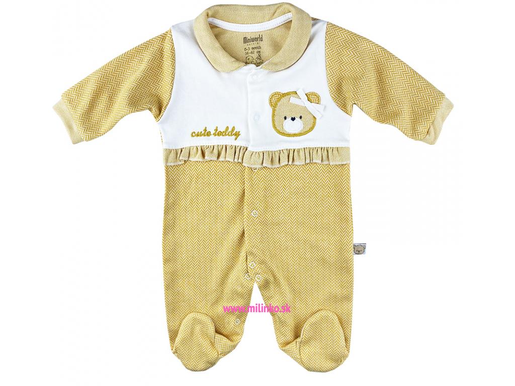 dupačky pre bábätká macík miniworld3,
