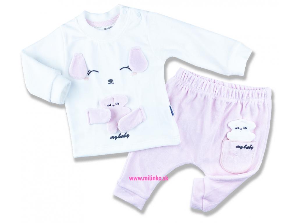 oblečenie pre bábätká zajko plyš2