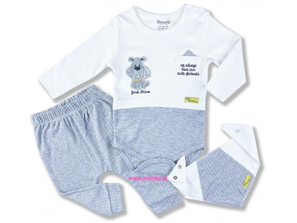 oblečenie pre bábätká set york