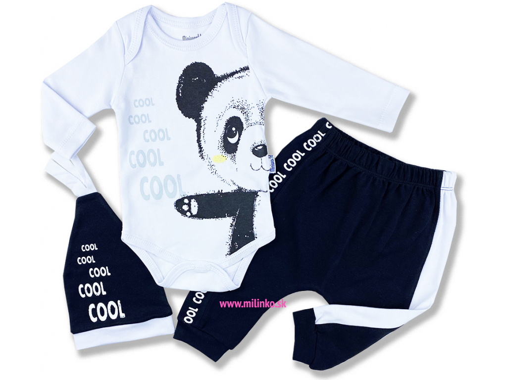 oblečenie pre bábätká panda1