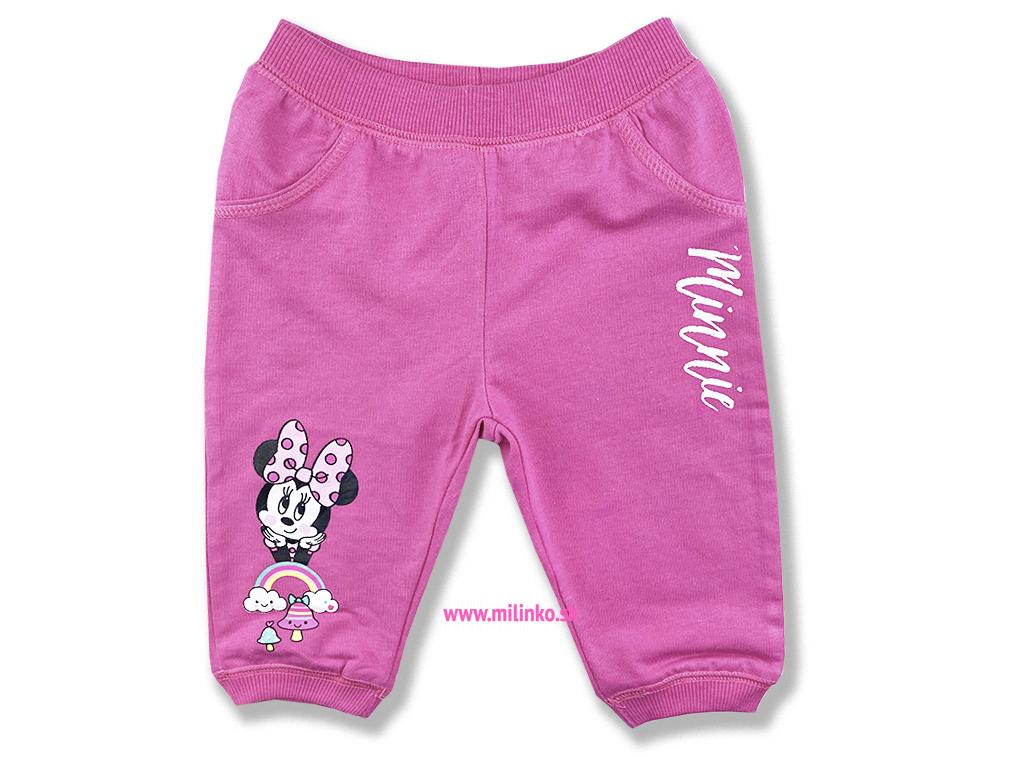 nohavice pre bábätká minnie mouse1