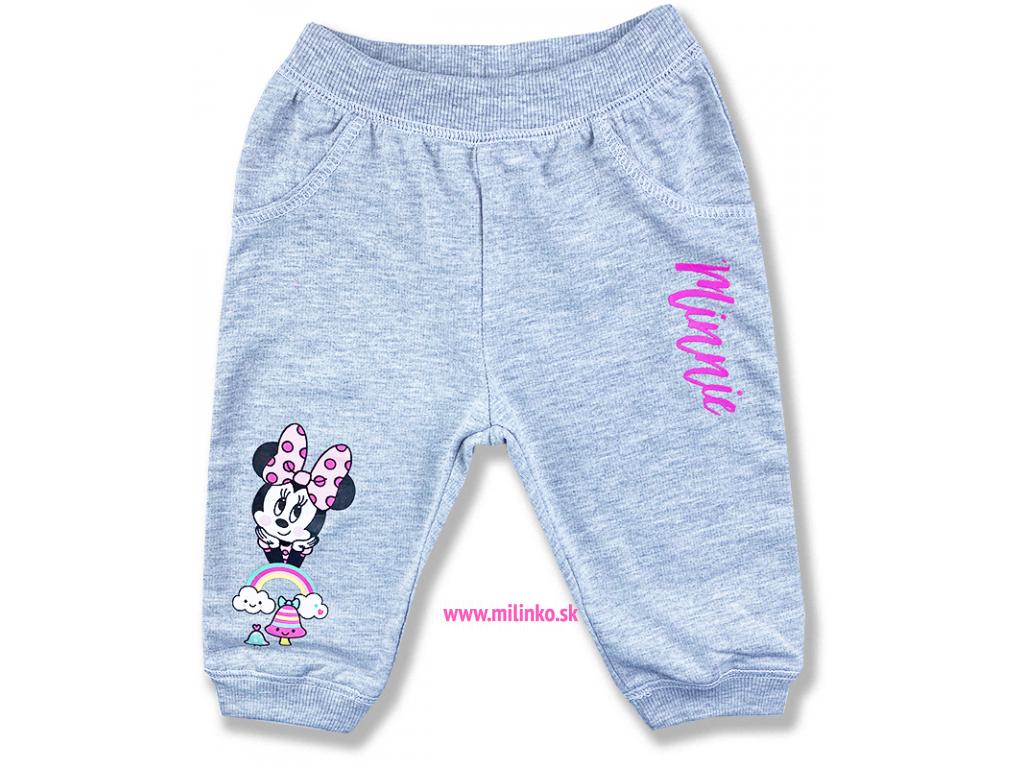 nohavice pre bábätká minnie mouse11