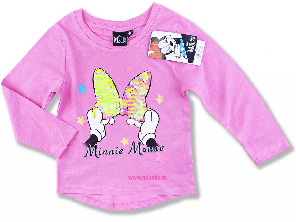 detské oblečenie minnie tričko dievčenské