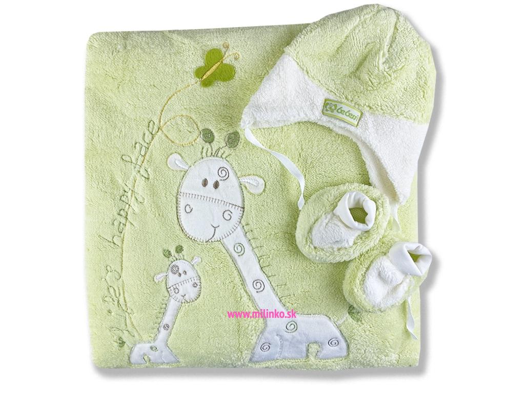 Teplý spací vak pre bábätká