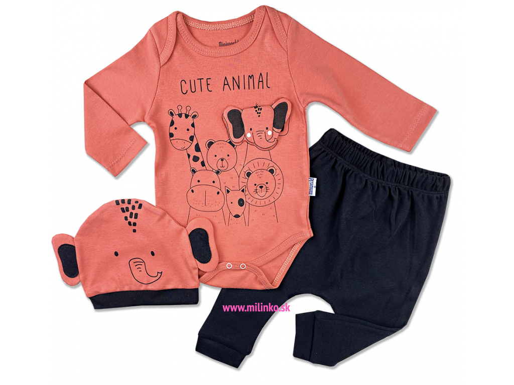 3dielny kojenecký set animal1