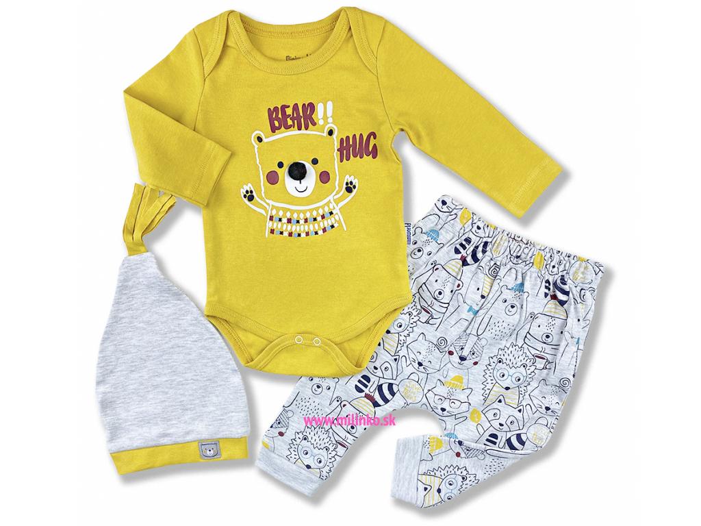 3dielny kojenecký set Bear Hug1