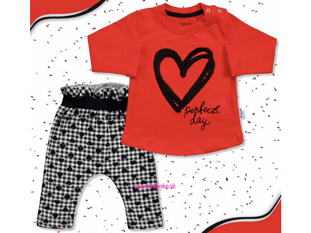 oblečenie pre bábätká srdiečko