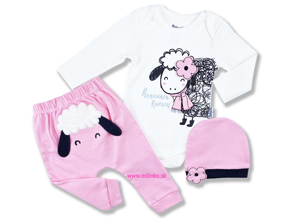 3dielny kojenecký set ovečka