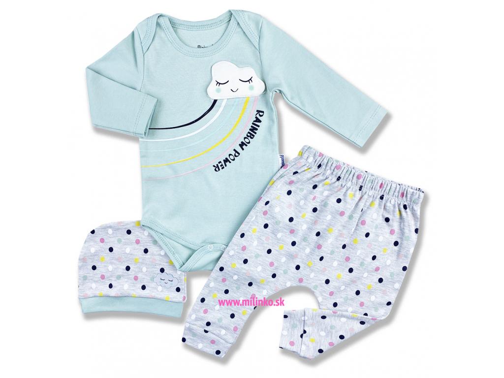 3dielny kojenecký set rainvow