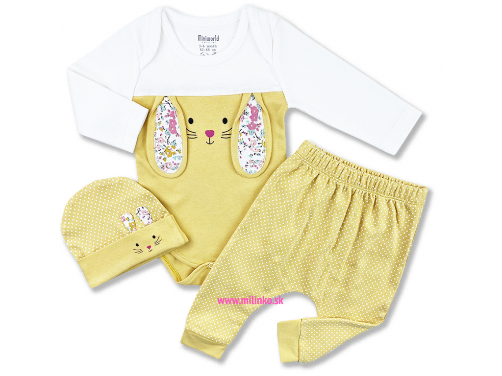 oblečenie pre bábätká zajačik1