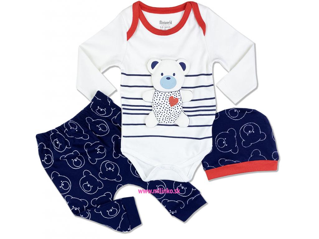 kojenecké oblečenie macík 1