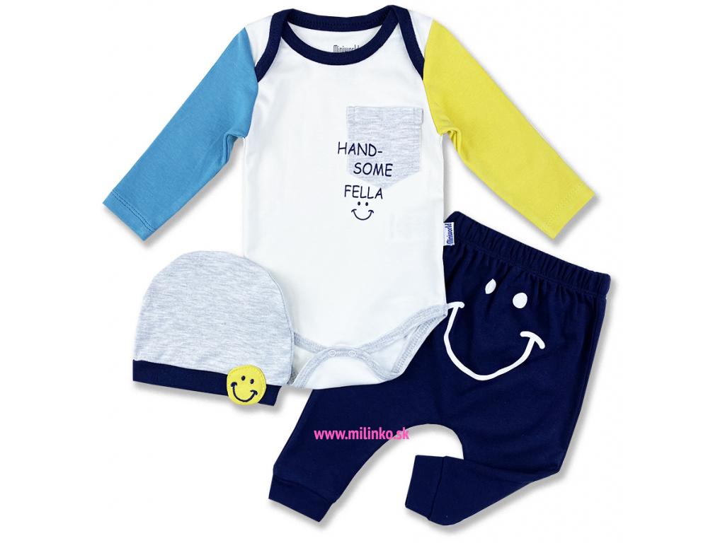 3dielny kojenecký set handsome