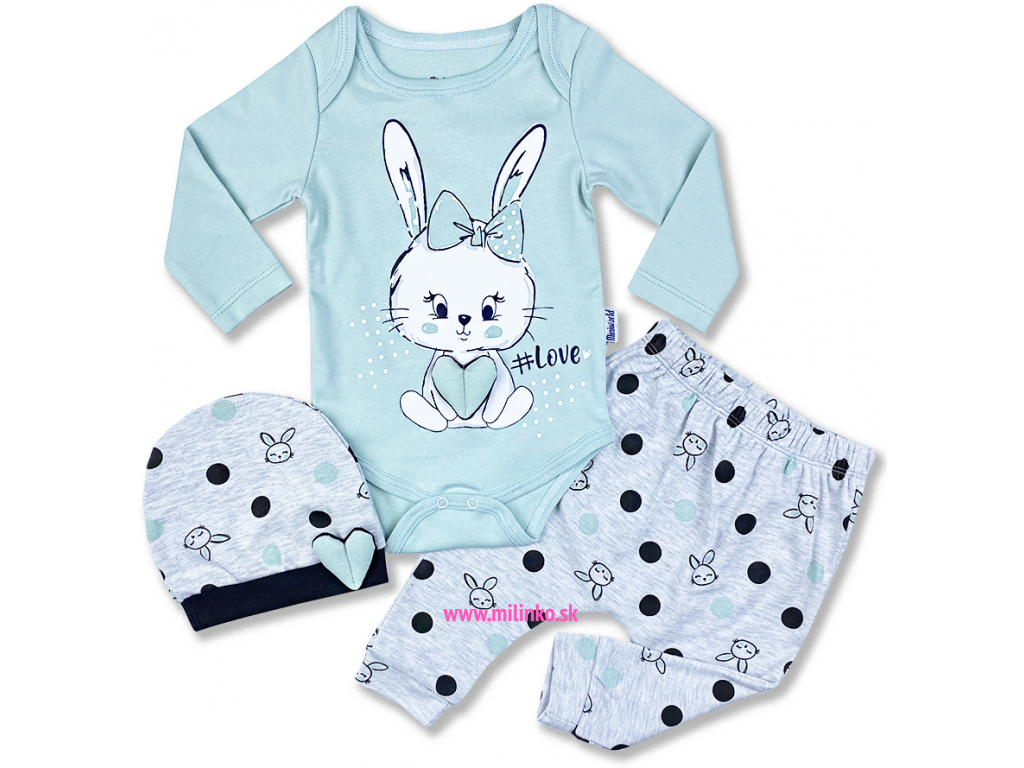 3dielny kojenecký set love1
