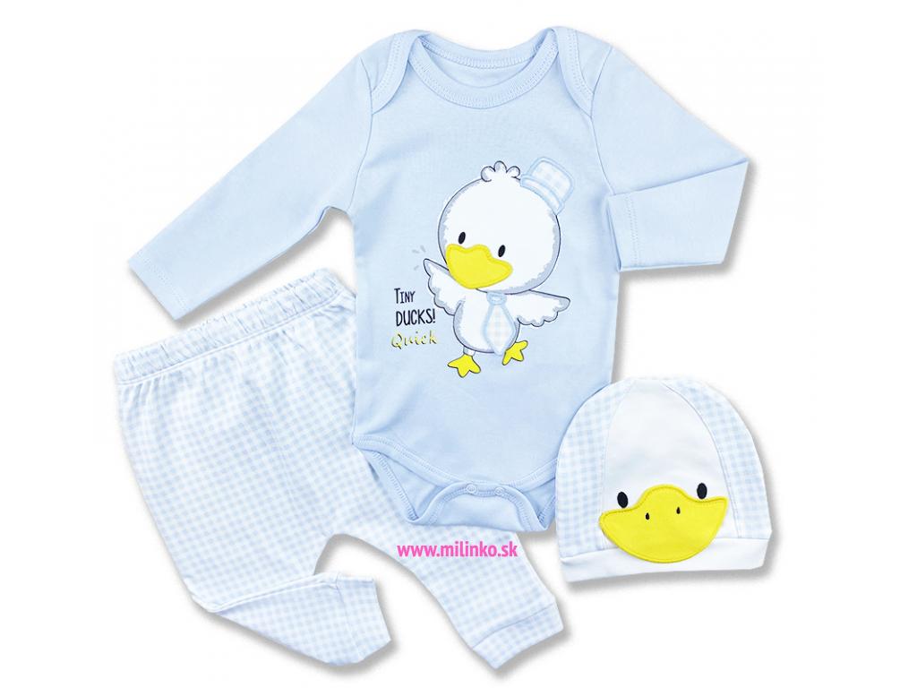 oblečenie pre bábätká kačička