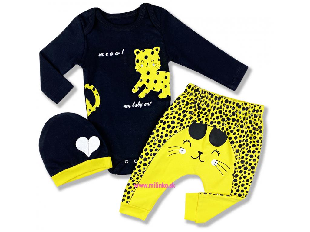 3dielny kojenecký set Leo1