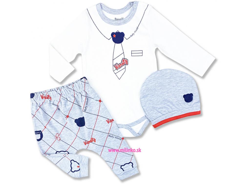 3dielny kojenecký set world