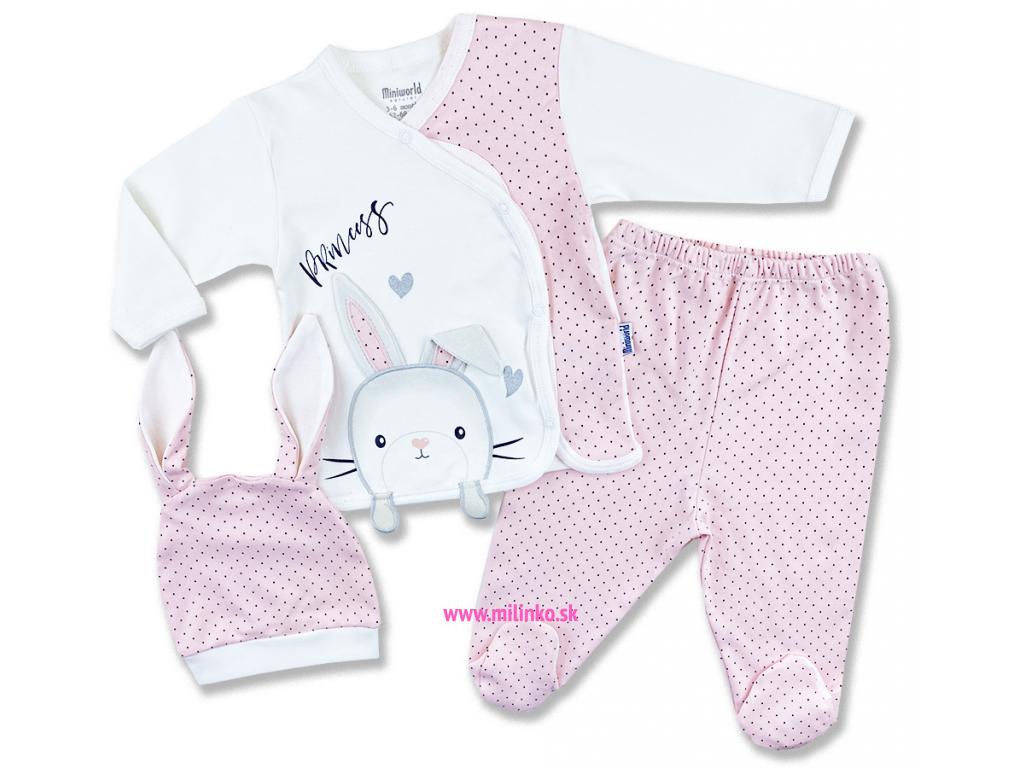 oblečenie pre bábätká set zajačik