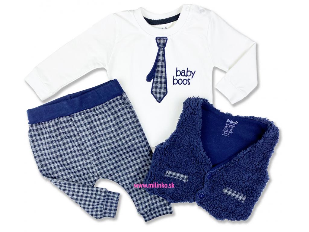 3dielny kojenecký set kravata1