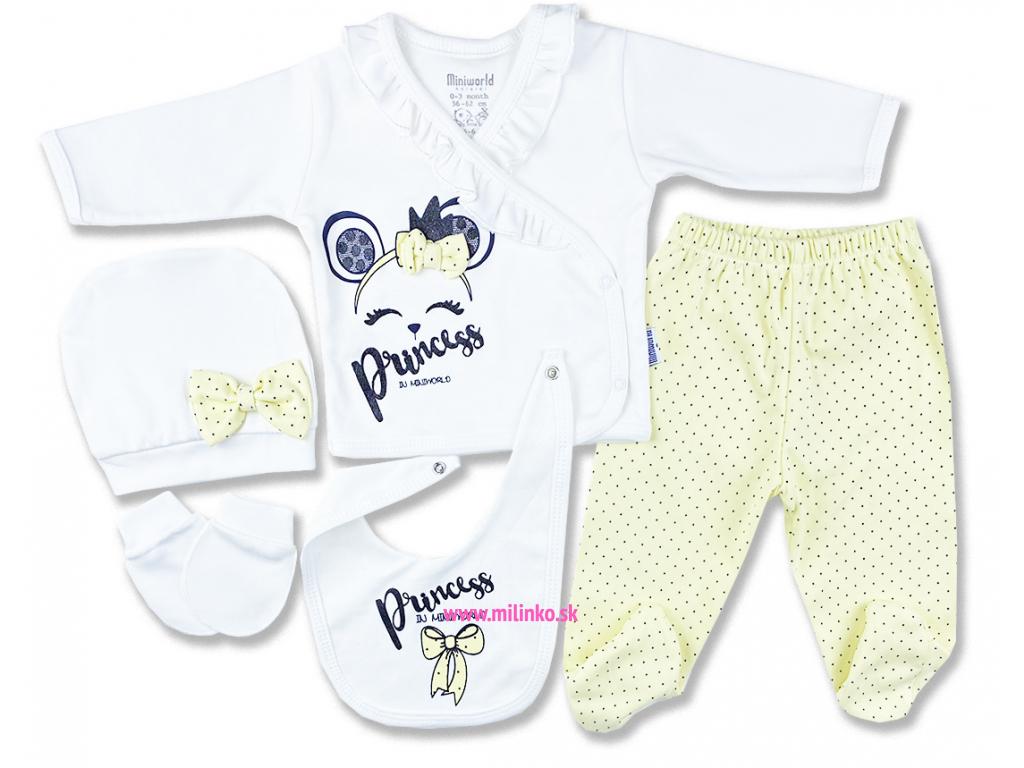 novorodenecký set princess