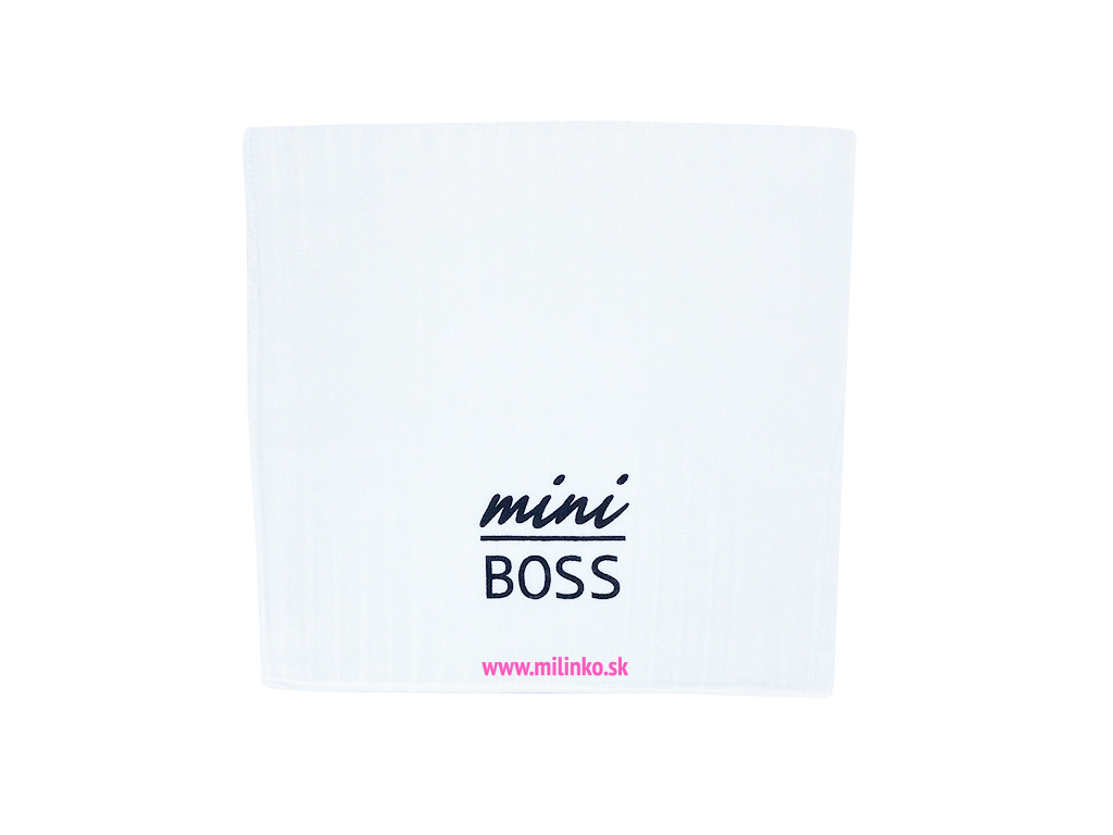 detská plienka mini boss