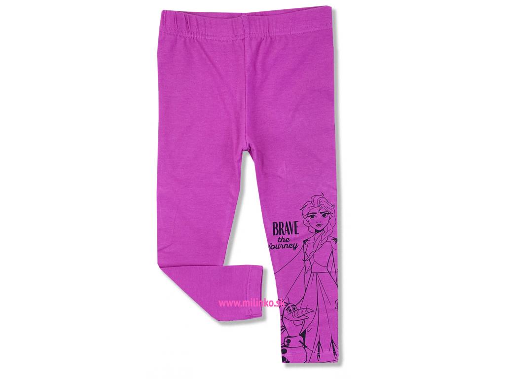 detské legíny frozen pink