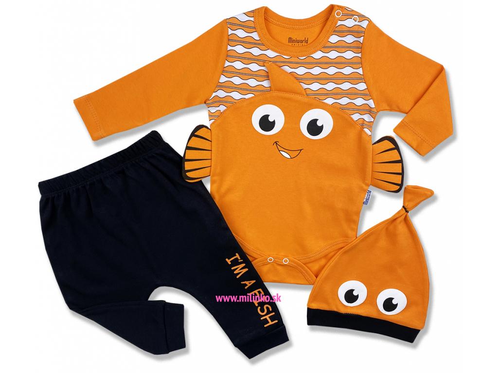 3dielny set pre bábätká Som rybička