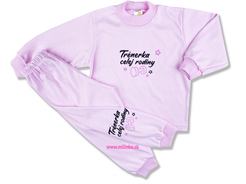 detské oblečenie pyžamo1