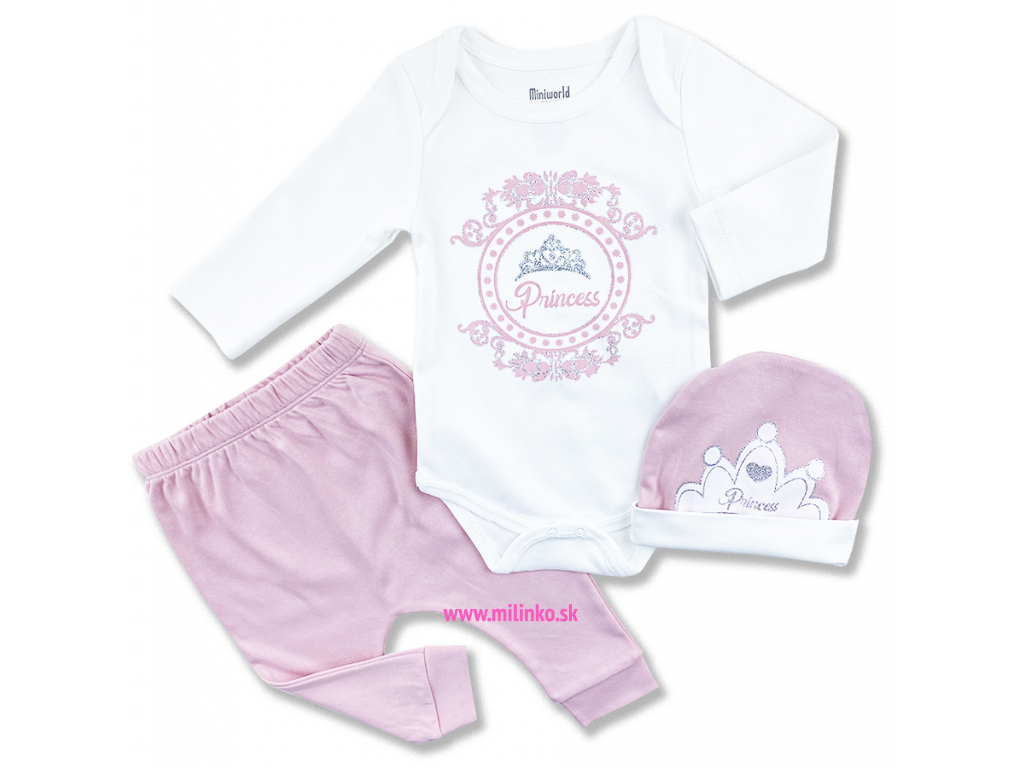 oblečenie pre bábätká princess1