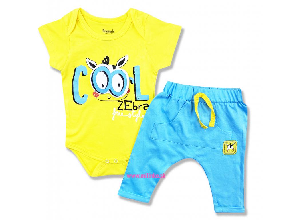2dielny set pre bábätká Cool Zebra