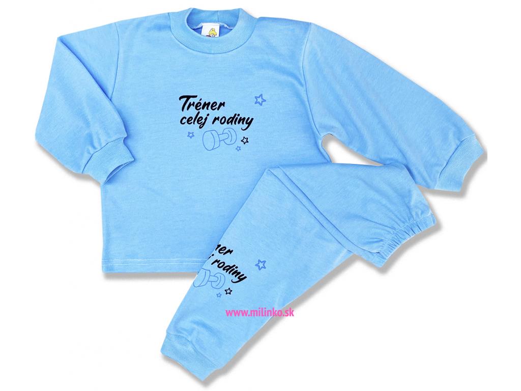 pyžamo pre deti tréner celej rodiny