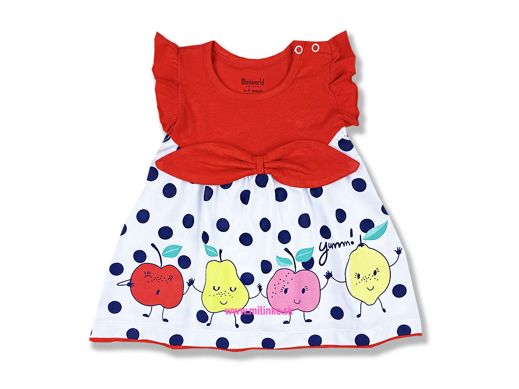 šaty pre bábätká jablčko