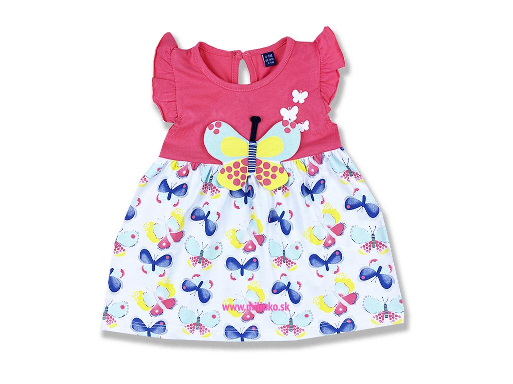 šaty pre bábätká motylik