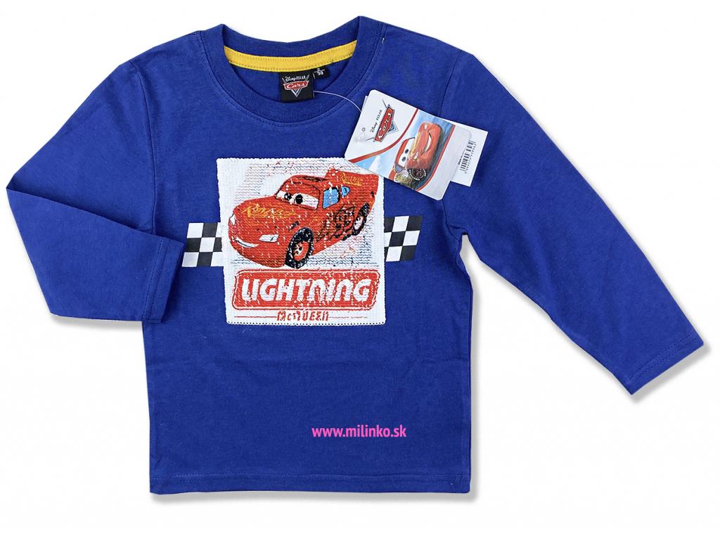 oblečenie pre deti cars s flitram1i